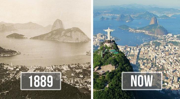 Diese 13 Fotos vorher-nachher-Bilder berühmter Städte zeigen, wie sehr sie sich in kürzester Zeit verändert haben