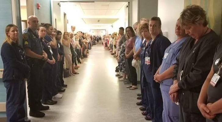 Hij redt de levens van 50 mensen door organen te doneren: het ziekenhuis brengt op een ontroerende manier een eerbetoon aan hem