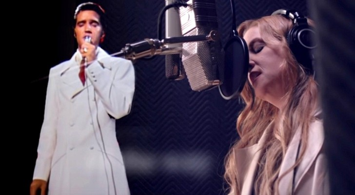 Elvis Presley's daughter records a