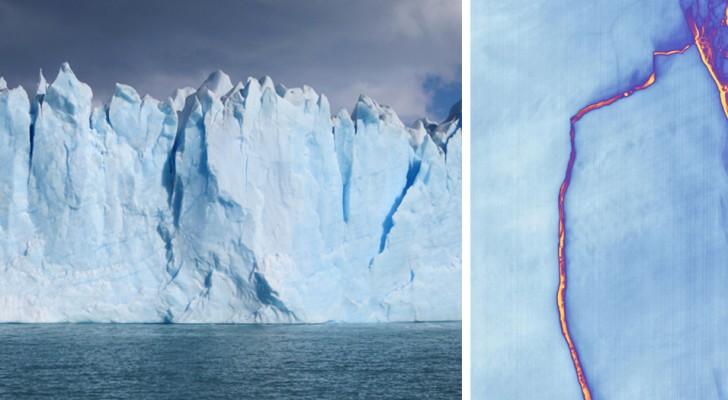 Pour la première fois de l'histoire, le plus ancien glacier de l'Arctique s'est rompu