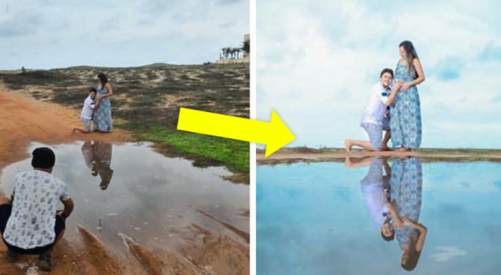 Deze fotograaf kan van een willekeurige locatie een adembenemende omgeving maken
