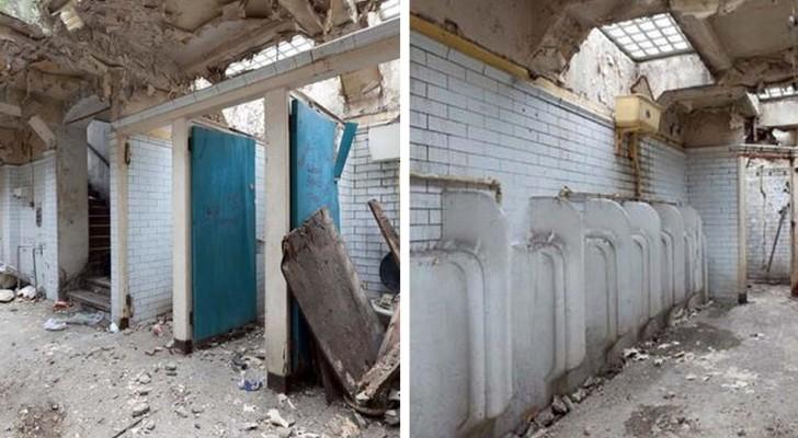 Deze dame koopt oude openbare toiletten en maakt er haar droomhuis van