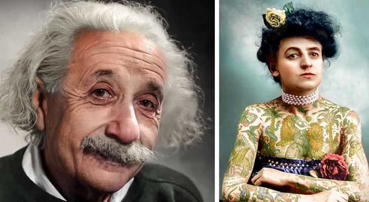 Es dauert über 3000 Stunden, bis ein Mann berühmte Fotos aus der Zeit nachfärbt: Der endgültige Effekt ist erstaunlich.