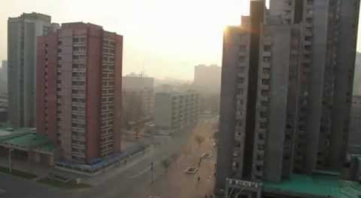 Corea del Nord -  Pyongyang all'alba