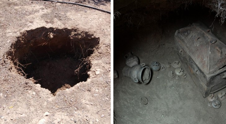 Ein Bauer parkt sein Auto an der falschen Stelle ... und entdeckt ein 3.500 Jahre altes Grabmal