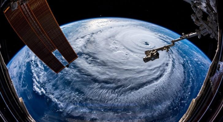 Astronauten maken foto's van de orkaan Florence en deze zijn enger dan je denkt