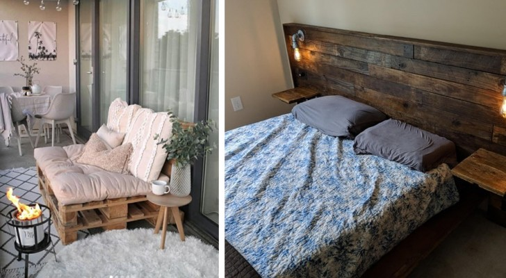 20 ideas with wooden pallets that will make you want to get straight to work