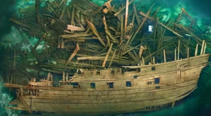 Retrouvé un navire du 16e siècle incroyablement bien conservé