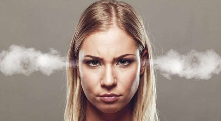 Frauen, die leichter wütend werden, haben mehr Intelligenz und Erinnerungsvermögen.