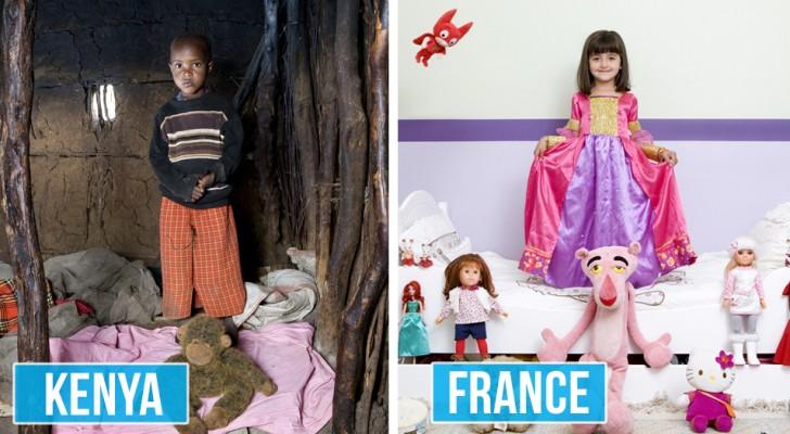 Ein italienischer Fotograf reist um die Welt und porträtiert Kinder, die von ihrem wertvollsten Besitz umgeben sind: Das kam dabei heraus.