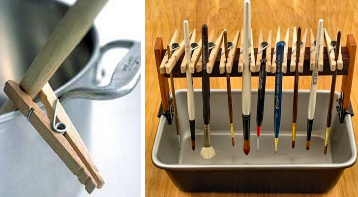 Do you use clothespins just to hang laundry? Here are 23 uses that perhaps have escaped your attention!