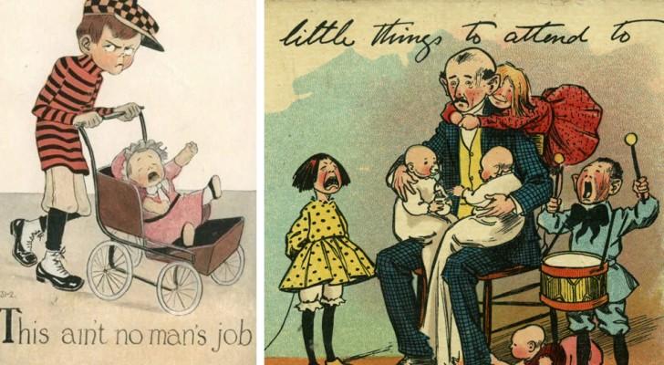 Diese Postkarten aus dem letzten Jahrhundert zeigen die