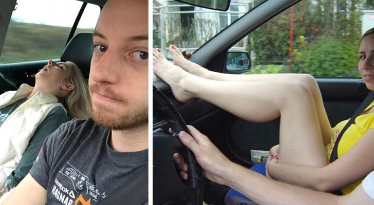 8 sehr gefährliche Dinge, die wir jeden Tag im Auto tun, ohne es zu wissen.