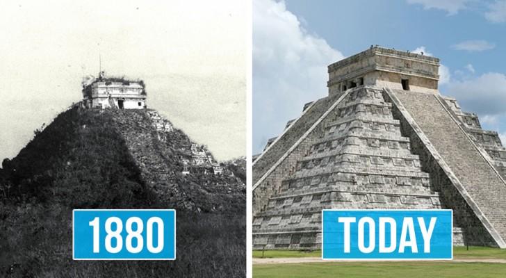 Einige Denkmäler und heilige Orte der Maya-Zivilisation, die Touristen selten gezeigt werden.