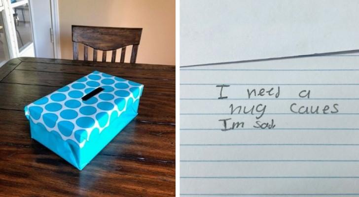 Una maestra crea la caja de la necesidad: cuando lee los deseos de los niños queda muy sorprendida