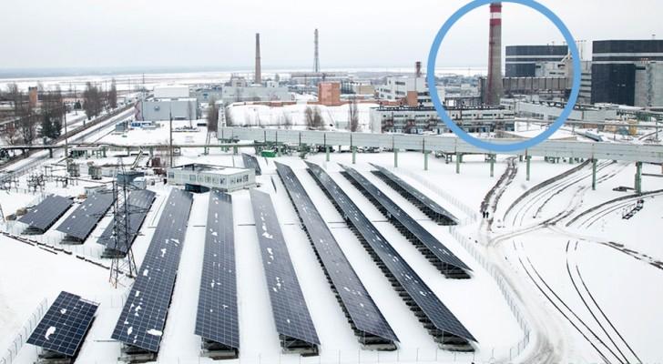 Inauguration de la première centrale solaire à quelques mètres du réacteur de Tchernobyl : voici tous les détails du projet