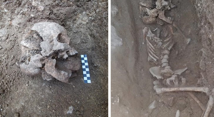 Er is in Italië een 1.550 jaar oud graf gevonden van een
