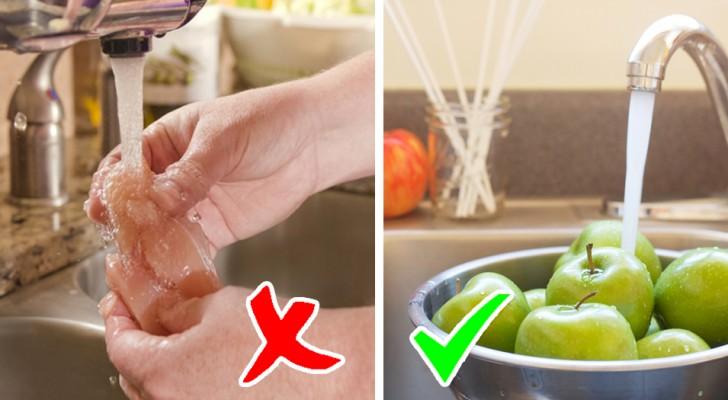 4 producten die je NOOIT zou mogen wassen voordat je ze eet