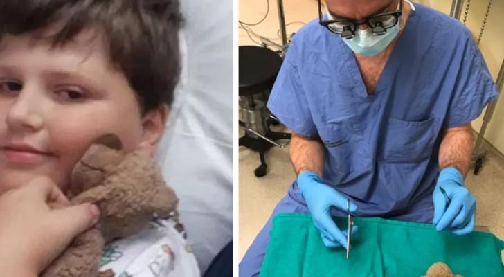 Prima dell'anestesia, un bimbo fa una richiesta bizzarra al chirurgo: e lui decide di accontentarlo
