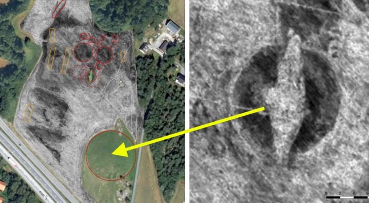 Una massiccia nave vichinga è stata ritrovata sepolta in un campo in Norvegia: potrebbe essere la tomba di un re