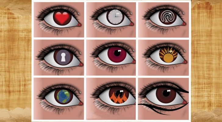 De 9-ogen-test: kies degene die je het meest aantrekt en ontdek wat het onthult over je persoonlijkheid