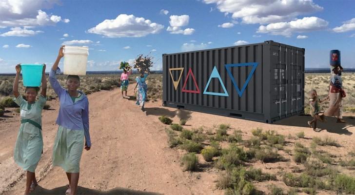 Twee designers maken een generator die drinkwater uit de lucht haalt en zij krijgen er als beloning 1,5 miljoen dollar voor