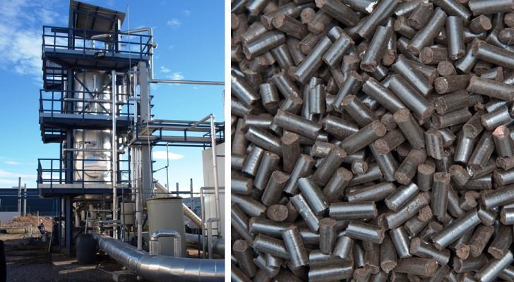Ein Unternehmen hat einen neuen Kraftstoff entwickelt, der kein Co2 emittiert, das aus Abwasser hergestellt wird.