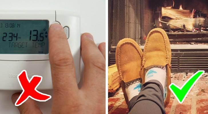 16 astuces simples mais efficaces pour se réchauffer chez soi sans abuser des radiateurs