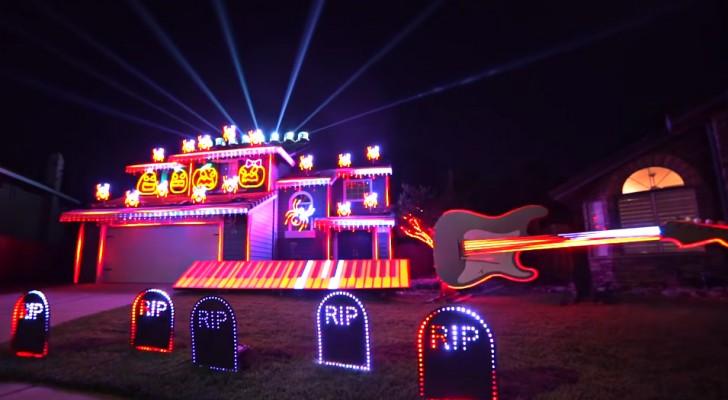 Il proprietario di questa casa ha creato uno spettacolo di luci mozzafiato sulle note di Michael Jackson: da vedere!