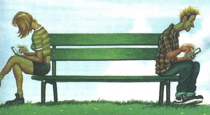 16 caricature che rappresentano con brutale sincerità i problemi della società moderna