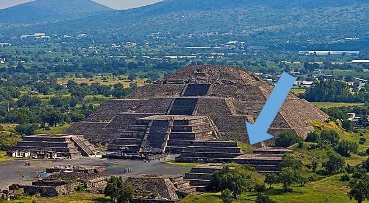 Scoperti una camera segreta e una serie di tunnel sotto la Piramide della Luna
