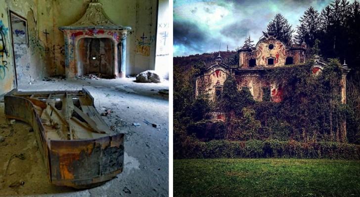 Die wahre Geschichte der Villa de Vecchi, dem meist frequentierten Haus Italiens.