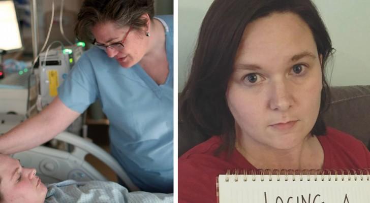 Een moeder verliest haar dochter tijdens de geboorte: de brief die ze de verpleegsters schrijft zal je ontroeren