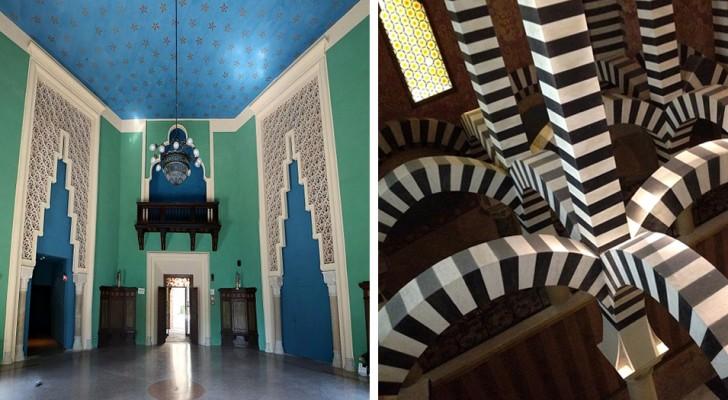 Rocchetta Mattei, een Italiaans architectonisch juweeltje dat op een schilderij van Escher lijkt