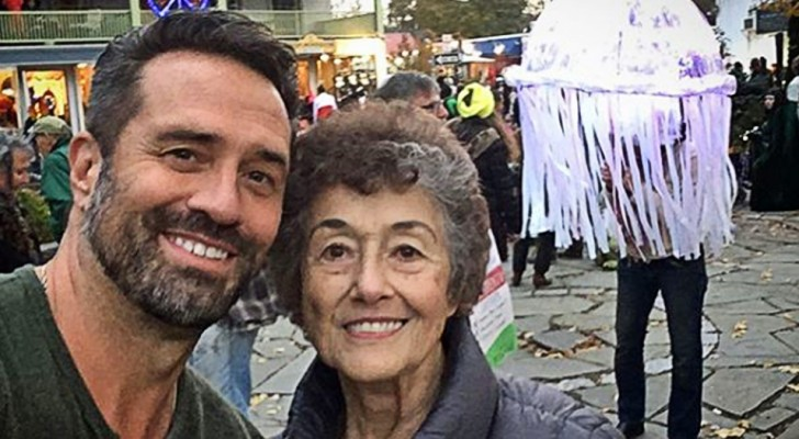 20 jaar lang heeft ze voor haar zieke man gezorgd: nu neemt haar zoon haar mee op reis naar 20 verschillende landen