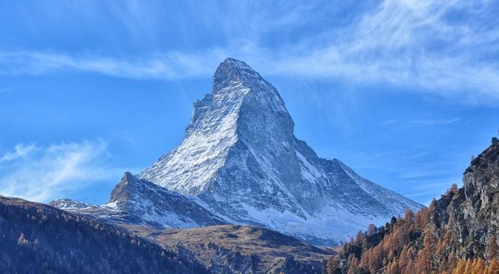 De Matterhorn, de op vijf na hoogste bergtop in de Alpen, heeft zijn oorsprong in Afrika