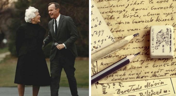 La lettre que George Bush a écrit à sa Barbara nous rappelle la beauté de l'amour d'un autre temps