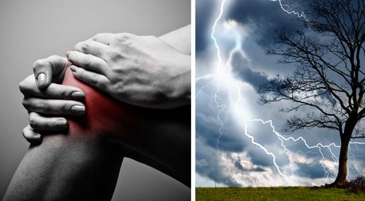 I dolori articolari preannunciano davvero il maltempo? Ecco cosa ne pensa la scienza