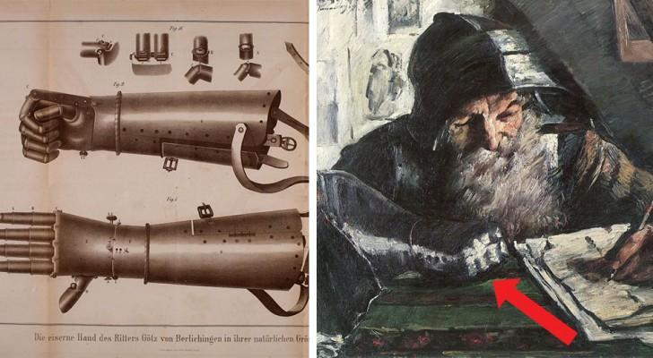 Le chevalier allemand qui a survécu à 50 ans de guerres avec un bras mécanique