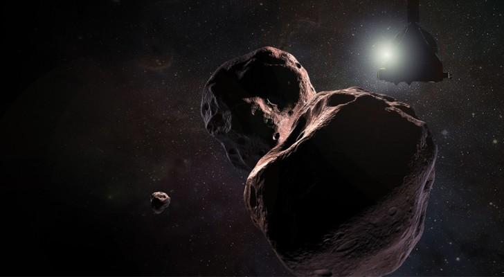 Una sonda della Nasa ha trovato prove tangibili della presenza di acqua su un asteroide lontano