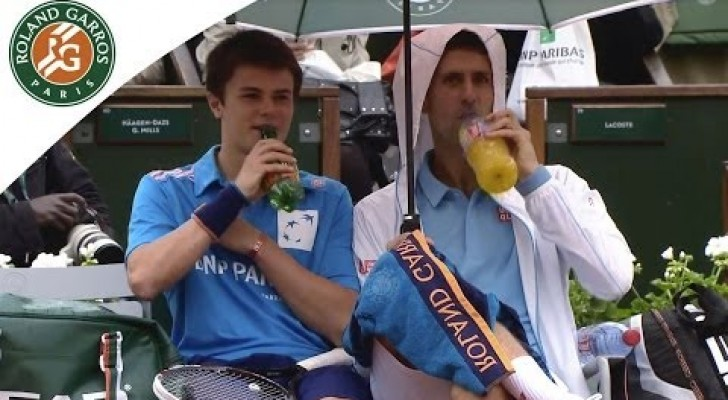 O grande Novak Djokovic e seu gesto inesperado
