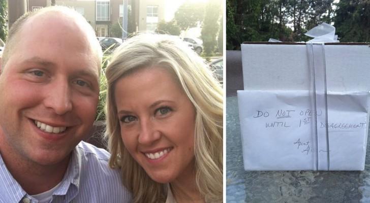 Da aprire dopo un litigio: dopo 9 anni di matrimonio, una coppia scopre il contenuto del regalo di una vecchia zia