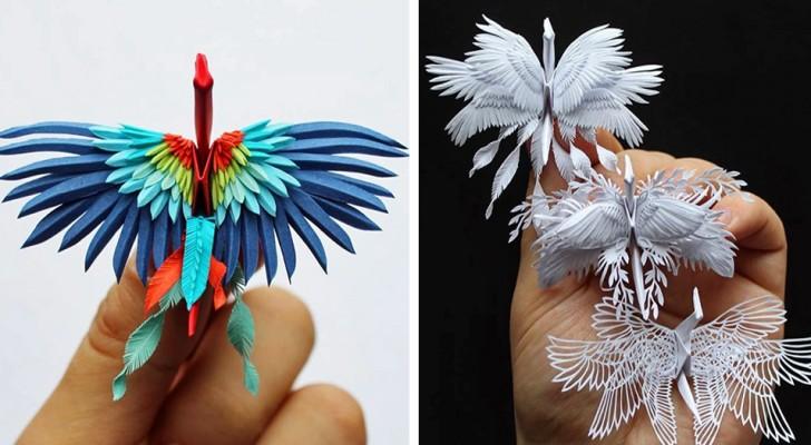 Cet artiste élève l'art de l'origami à un niveau jamais vu auparavant