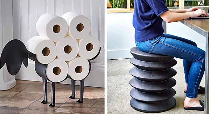 21 oggetti di uso comune reinterpretati come elementi di design