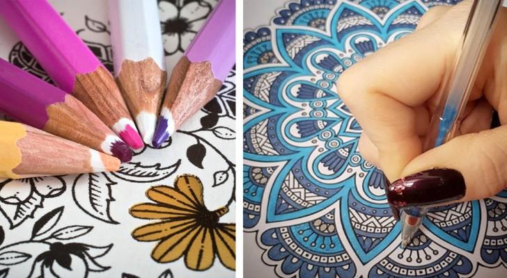 Psychologen leggen uit waarom kleuren voor volwassenen het beste alternatief is voor meditatie