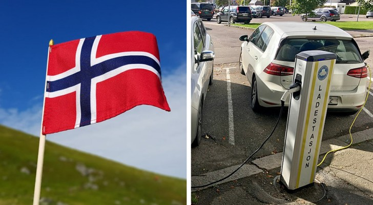 Een derde van de auto's die in 2018 in Noorwegen werden verkocht, was elektrisch