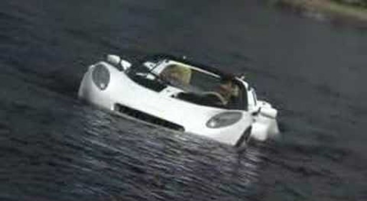 The first underwater car