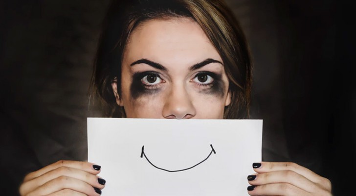 Att le på utsidan medan man håller på att dö på insidan. 5 tecken på