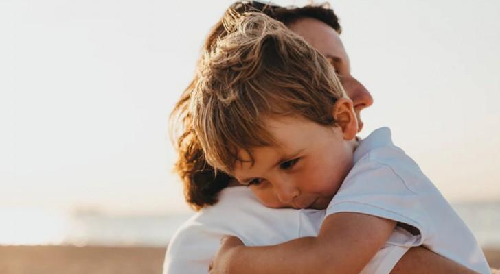 En kram vid rätt tidpunkt fungerar bättre än tusen tröstande ord