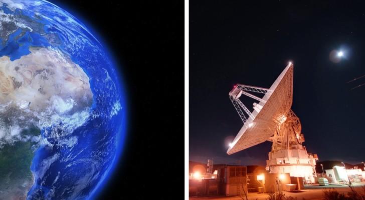 Wissenschaftler haben ein ungewöhnliches Radiosignal aus einer 1,5 Milliarden Lichtjahre entfernten Galaxie empfangen
